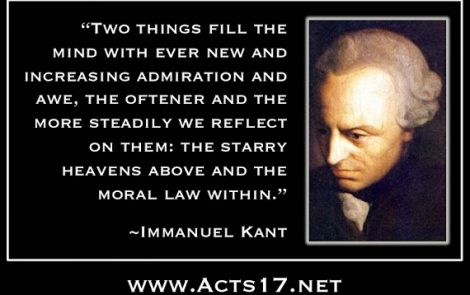 Good in the eyes of God: The philosophy of Immanuel Kant
