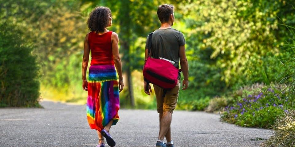 Walking raises creativity